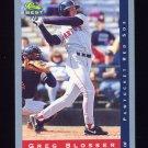 1993 Classic / Best Baseball #044 Greg Blosser - Pawtucket Red Sox