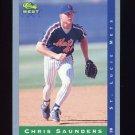 1993 Classic / Best Baseball #021 Chris Saunders - St. Lucie Mets