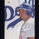 1993 Studio Baseball #177 Jody Reed - Los Angeles Dodgers