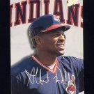 1993 Studio Baseball #095 Albert Belle - Cleveland Indians