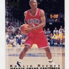 1994 Classic Four Sport Basketball #194 Khalid Reeves