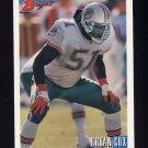 1993 Bowman Football #404 Bryan Cox - Miami Dolphins