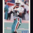 1993 Bowman Football #363 Mark Ingram - Miami Dolphins