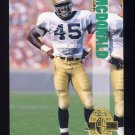1993 Classic Four Sport Football #145 Devon McDonald