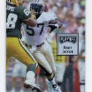 1993 Playoff Contenders Football #024 Rickey Jackson - New Orleans Saints