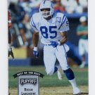 1993 Playoff Contenders Football #005 Reggie Langhorne - Indianapolis Colts