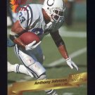 1993 Wild Card Football #076 Anthony Johnson - Indianapolis Colts