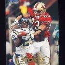1998 Fleer Tradition Football #181 J.J. Stokes - San Francisco 49ers