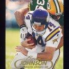 1998 Fleer Tradition Football #170 Brad Johnson - Minnesota Vikings