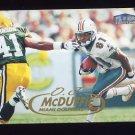 1998 Fleer Tradition Football #111 O.J. McDuffie - Miami Dolphins