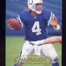 1998 Fleer Tradition Football #078 Jim Harbaugh - Baltimore Ravens