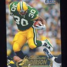 1998 Fleer Tradition Football #048 William Henderson - Green Bay Packers