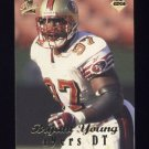 1998 Collector's Edge First Place Football #229 Bryant Young - San Francisco 49ers