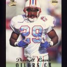 1998 Collector's Edge First Place Football #130 Darryll Lewis - Tennessee Oilers