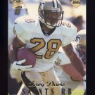 1998 Collector's Edge First Place Football #060 Troy Davis - New Orleans Saints