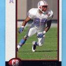 1998 Bowman Football #176 Darryll Lewis - Tennessee Oilers