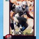 1998 Bowman Football #122 Chad Brown - Seattle Seahawks