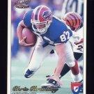 1997 Pacific Philadelphia Football #034 Chris Brantley - Buffalo Bills
