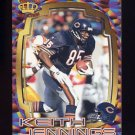 1997 Pacific Dynagon Best Kept Secrets #036 Keith Jennings - Chicago Bears
