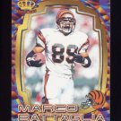 1997 Pacific Dynagon Best Kept Secrets #009 Marco Battaglia - Cincinnati Bengals