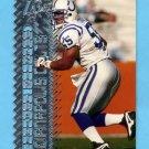 1996 Topps Laser Football #057 Quentin Coryatt - Indianapolis Colts
