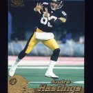 1996 Pacific Football #359 Andre Hastings - Pittsburgh Steelers