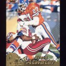 1996 Pacific Football #126 Steve Atwater - Denver Broncos