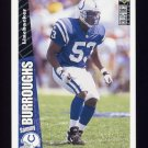 1996 Collector's Choice Update Football #U163 Sammy Burroughs RC - Indianapolis Colts