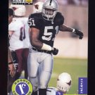 1996 Collector's Choice Update Football #U054 Lance Johnstone RC - Oakland Raiders