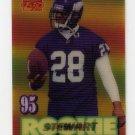1995 Sportflix Football #138 James A. Stewart RC - Minnesota Vikings