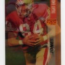 1995 Sportflix Football #115 Brent Jones - San Francisco 49ers