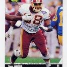 1995 Pro Line Football #016 Tony Woods - Washington Redskins