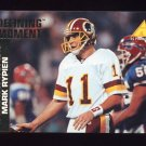1995 Pinnacle Club Collection Football #207 Mark Rypien - St. Louis Rams