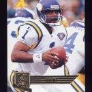1995 Pinnacle Club Collection Football #175 Warren Moon - Minnesota Vikings