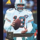 1995 Pinnacle Club Collection Football #146 Bernie Kosar - Miami Dolphins