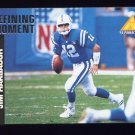 1995 Pinnacle Club Collection Football #108 Jim Harbaugh - Indianapolis Colts