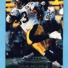 1995 Pinnacle Football #163 Byron Bam Morris - Pittsburgh Steelers
