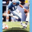 1995 Pinnacle Football #157 Scott Mitchell - Detroit Lions