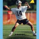 1995 Pinnacle Football #117 Frank Reich - Carolina Panthers