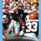 1995 Pinnacle Football #093 David Klingler - Cincinnati Bengals