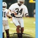 1995 Pinnacle Football #075 Derrick Fenner - Oakland Raiders