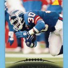 1995 Pinnacle Football #046 Dave Meggett - New England Patriots
