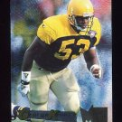 1995 Metal Football #072 George Koonce - Green Bay Packers