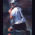 1995 Metal Football #026 Frank Reich - Carolina Panthers