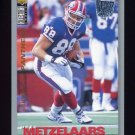 1995 Collector's Choice Player's Club #345 Pete Metzelaars - Carolina Panthers