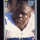 1995 Collector's Choice Player's Club #318 Russell Maryland - Dallas Cowboys