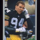 1995 Collector&#39;s Choice Player&#39;s Club #311 Chad Brown - Pittsburgh Steelers