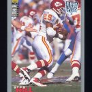 1995 Collector's Choice Player's Club #285 Greg Hill - Kansas City Chiefs