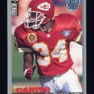 1995 Collector's Choice Player's Club #229 Dale Carter - Kansas City Chiefs