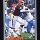 1995 Collector's Choice Player's Club #197 Rob Burnett - Cleveland Browns